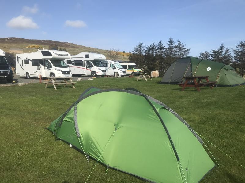 Motorhome, Caravan, Camping, Pods on NC500 Food Restaurant Bar Inn