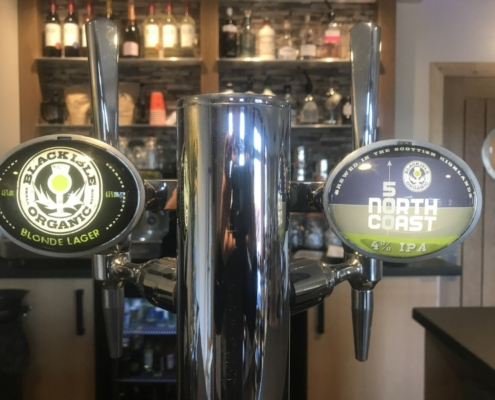 Guest Beers - these are both Local Highland